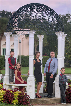 family portrait St Petersburg FL