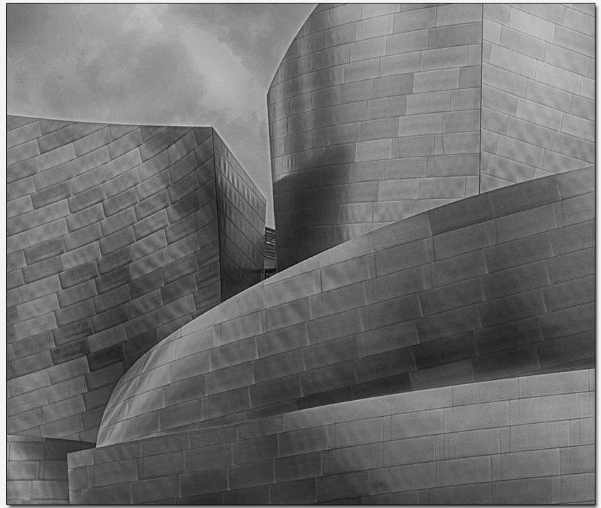 Disney Concert Hall detail  architect Frank Gehry