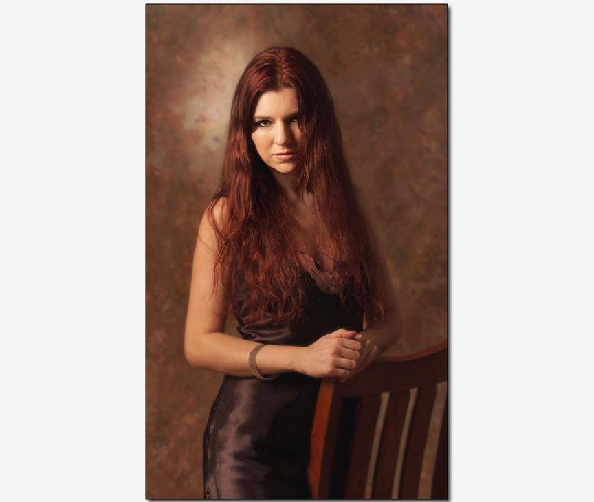 marketing advertising photo   Russian pop-musician Marina V